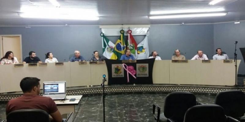 Sessão Ordinária do dia 17/10/2017