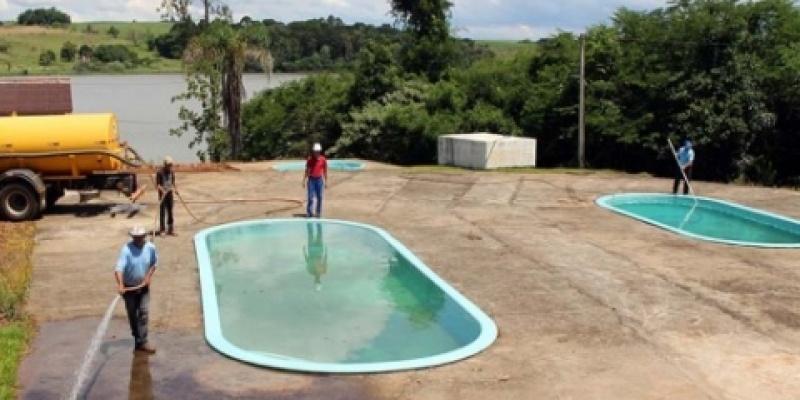 Vereadores Paula Baldissera e Luiz Chimello fazem visitas ao Parque de Máquinas e à Prainha Camping